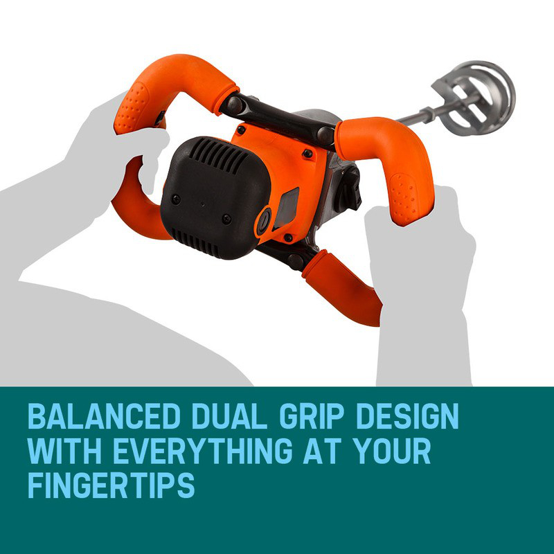 Mixer Ergonomic Handles Balanced Dual Grip