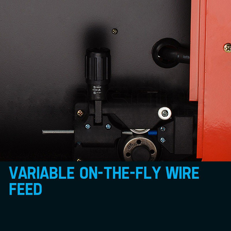 On-The-Fly Wire Feed