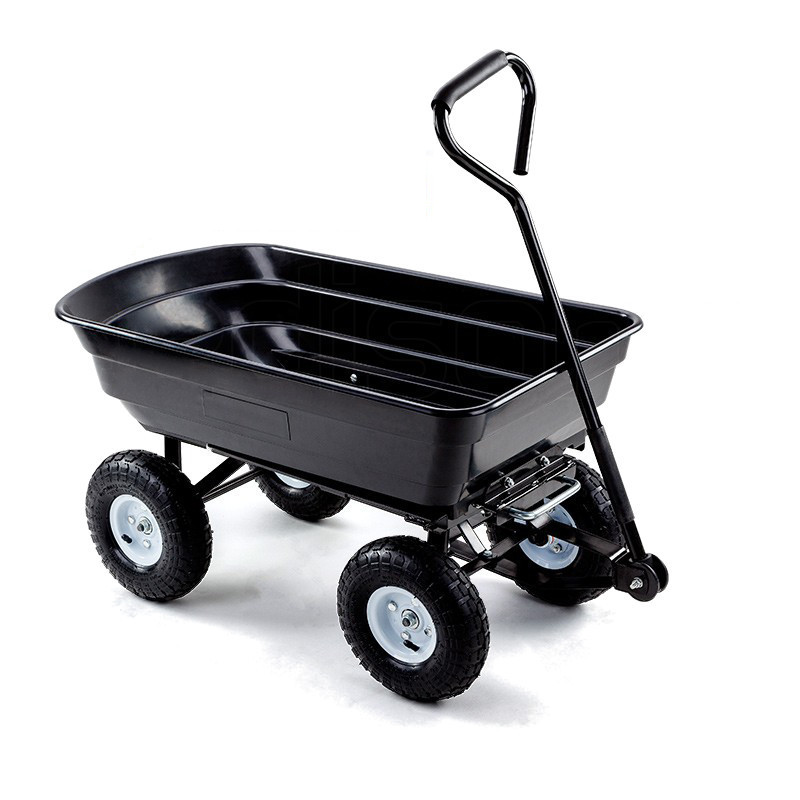 Ultra-durable Soft-grip Dump Cart