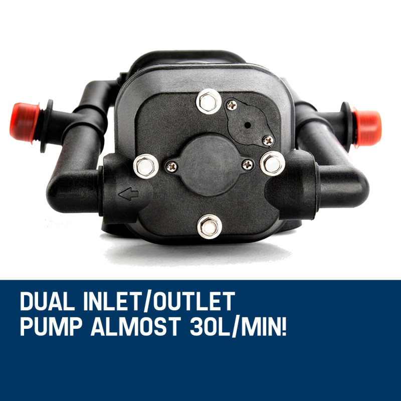 Dual Inlet/Outlet