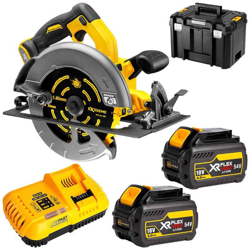 Dewalt 54V (6.0Ah) XR FLEXVOLT Brushless 184mm Circular Saw Kit
