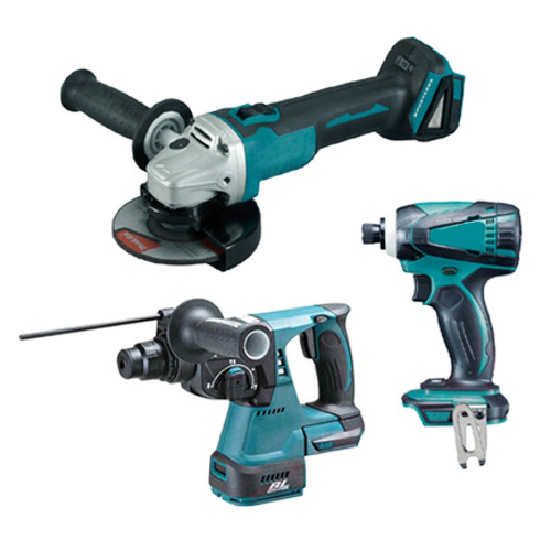 Makita 5pce Cordless Combo Kit