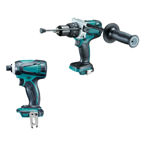 Makita 5pce Cordless Brushless Combo Kit