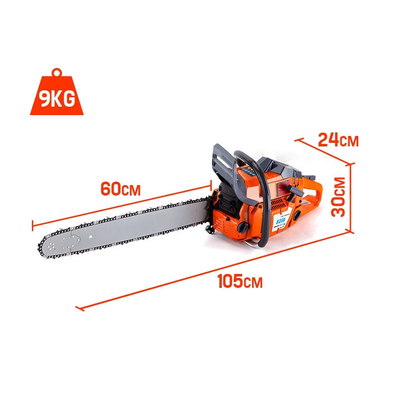 Balanced Design 82cc Chainsaw
