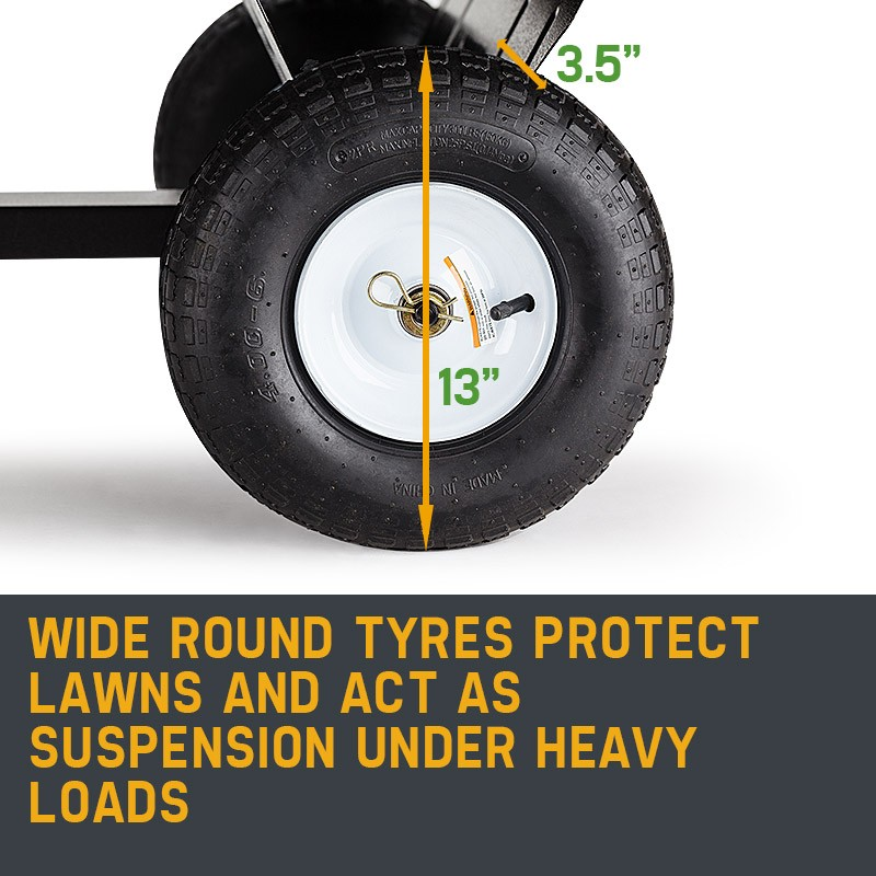 Wide Round Tyres
