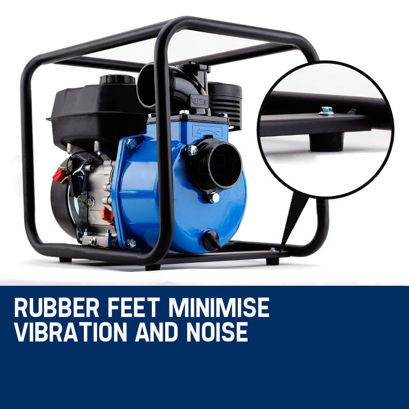 Rubber feet and noise