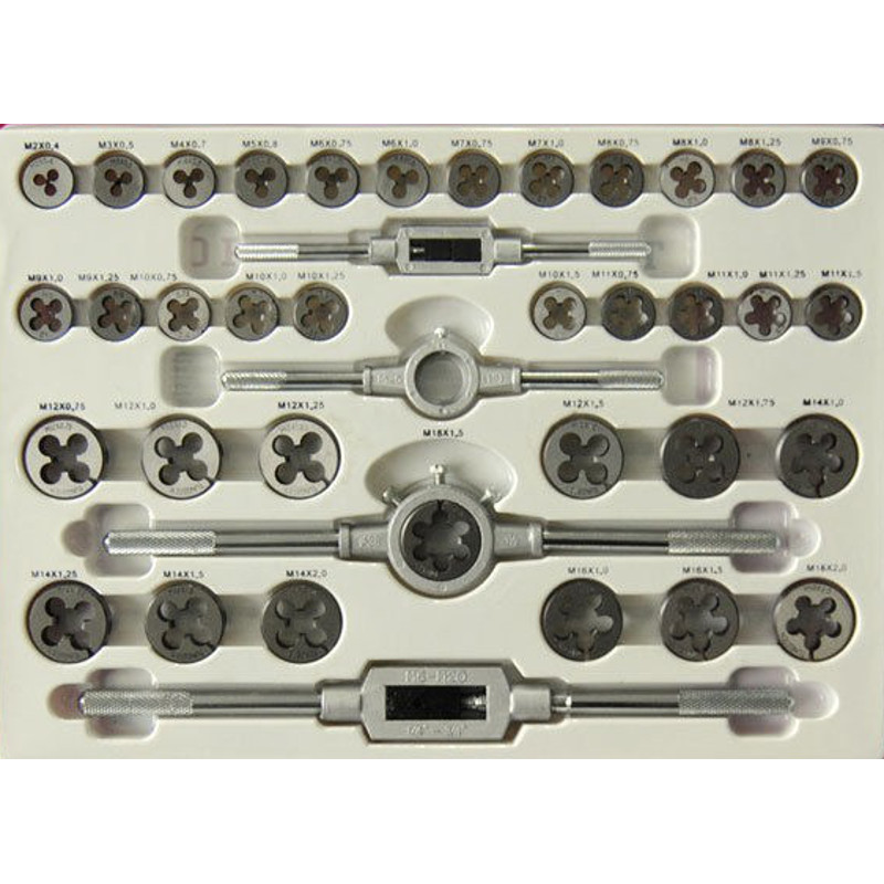 KC Tools 110 Piece Tap And Die Set