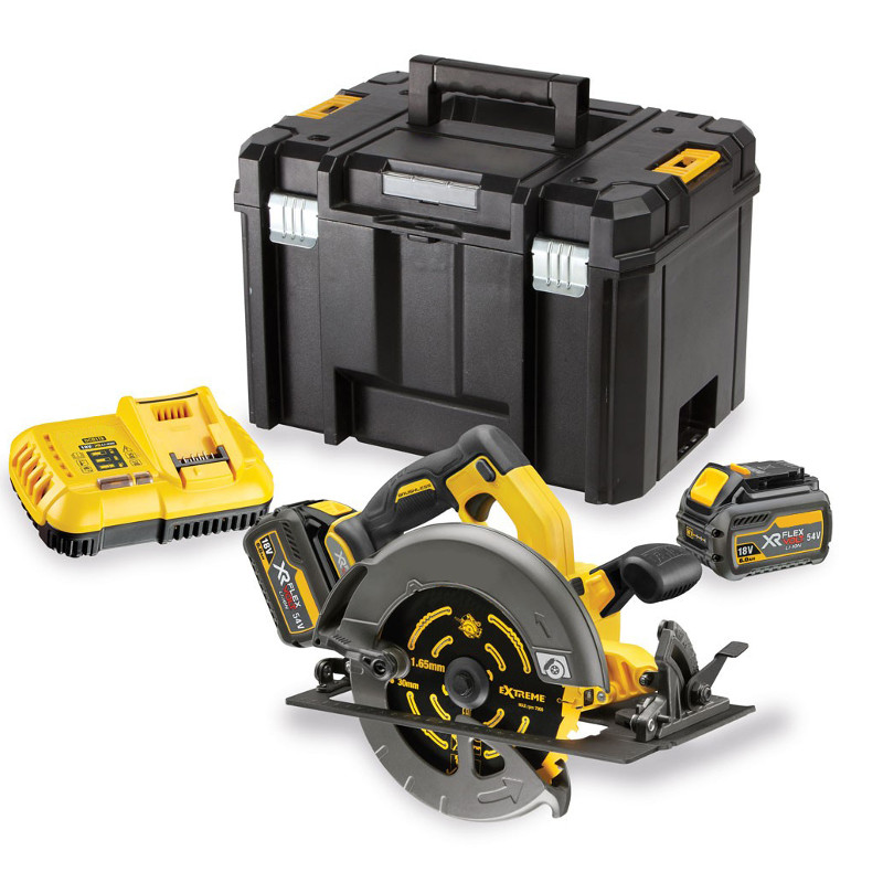 Dewalt FLEXVOLT Brushless 184mm Circular Saw Kit
