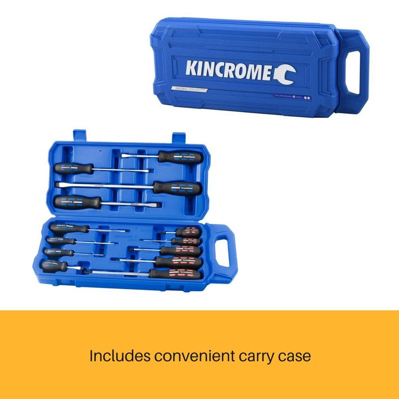 Kincrome 13pce Torquemaster Screwdriver Set