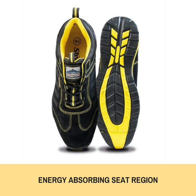 Portwest Lusum Safety Trainer Shoes