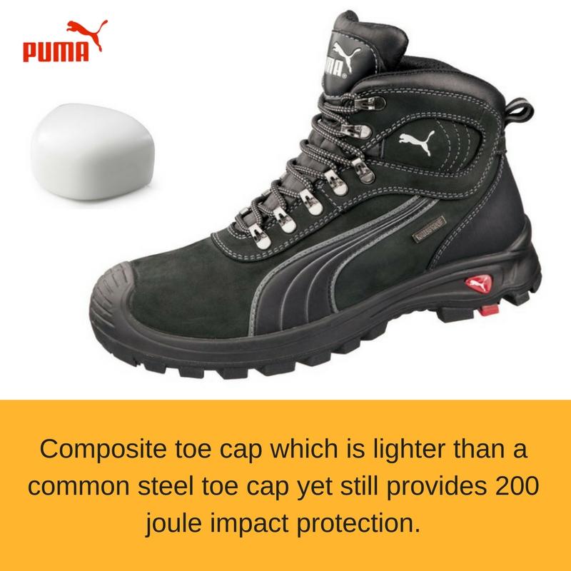 Puma Sierra Nevada Work Boot in Black - Buy Safety Boots  5615fad56ca